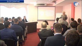 В Боровичах обсудили вопросы дорожной отрасли