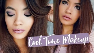 Cool Tones Makeup Tutorial | Belinda Selene