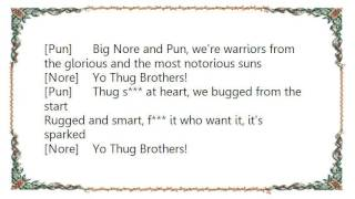 Funkmaster Flex - Thug Brothers Lyrics