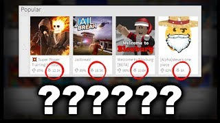 Roblox Removes the Popular Game List