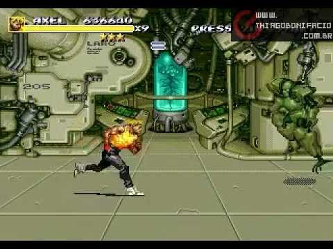 Streets of Rage 3 Megadrive