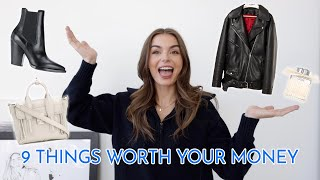 ITEMS WORTH SPLURGING ON | my best purchases