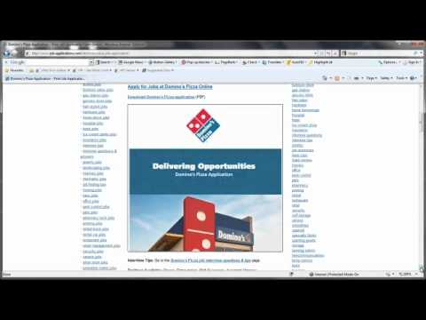 Dominos application pdf form - Fill Out and Sign Printable