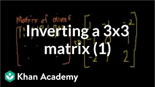 Inverting matrices (part 2)