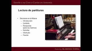 Webinar: Enseñe a Su Coro a Cantar en Armonía
