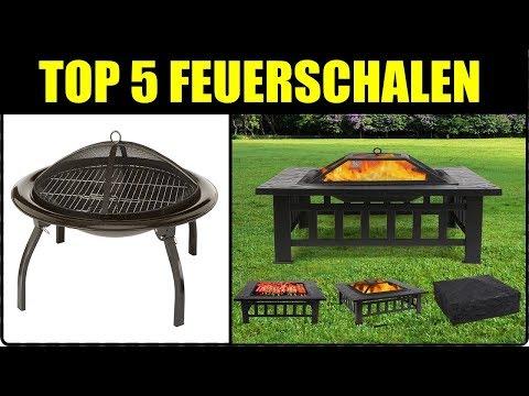 TOP 5 FEUERSCHALEN / FEUERPLATTEN ★ Feuerschale kaufen ★ Feuerschale zum Grillen, aus Edelstahl,...