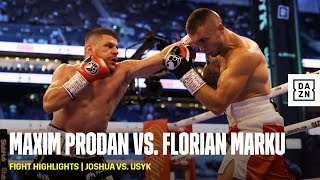 FIGHT HIGHLIGHTS   Maxim Prodan vs. Florian Marku