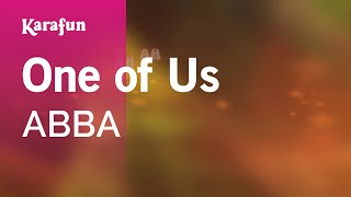 Karaoke One of Us - ABBA *