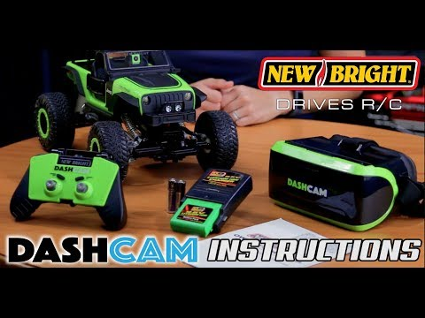 New Bright – R/C Dashcam – 1:14 Jeep Trailcat – Instructions