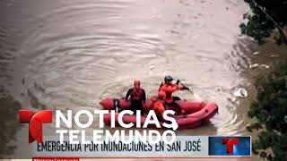 Emergencia en California por causa de las lluvias | Noticiero | Noticias Telemundo