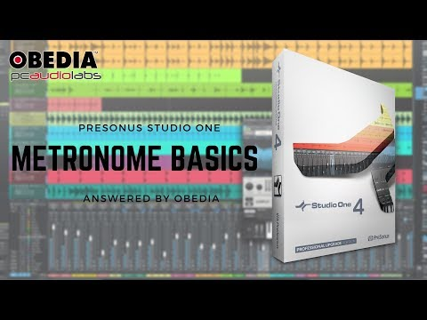 Get Started with Studio One: Metronome Basics in Studio One