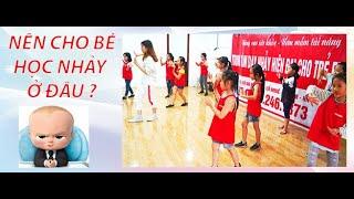Nên cho bé học nhảy ở đâu?