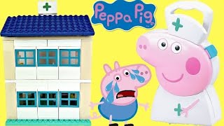 Peppa Pigs Family Hospital Building And Construction Set