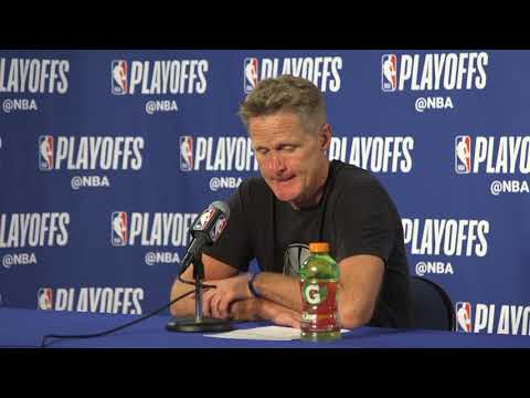 Kerr, Warriors players pay tribute to grieving Popovich after Game 5 win