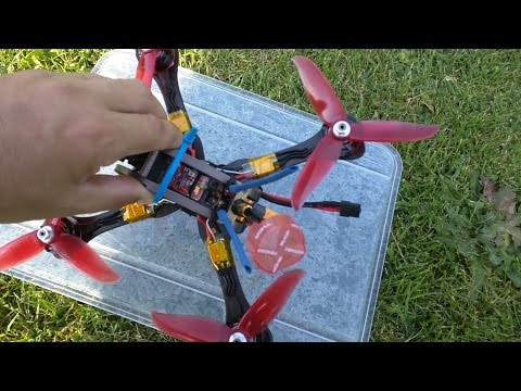 ImmersionRC Tramp HV & HGLRC F4 Flame Betaflight OSD DVR from banggood