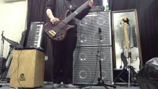 KORN Clown bass cover