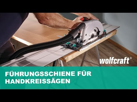 Führungsschiene für Handkreissägen: Zuschneiden & Kürzen | wolfcraft