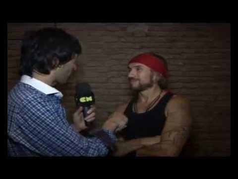 Macaco video Entrevista CM - 1er Visita a Argentina