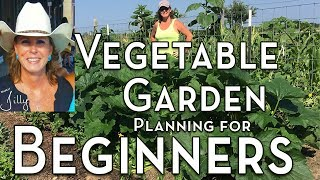 Planning a Vegetable Garden for Beginners - Easy to Grow Vegetables for First Time Gardener