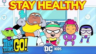 Teen Titans Go! | Stay Healthy | DC Kids