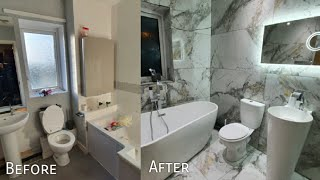 Wifes Luxury Bathroom Completed (Before & After) 😊👍
