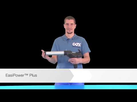 Eas Power Plus Cartridge  Battery Operated Silicone Gun