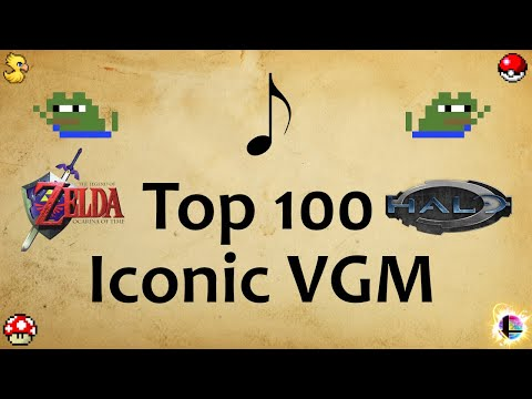100 Most Iconic Video Game Songs (1980-2018)