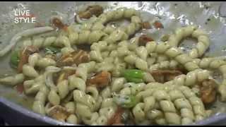 Tagliatelle con cozze tarantine di Aimo e Nadia - Chef Fabio Pisani
