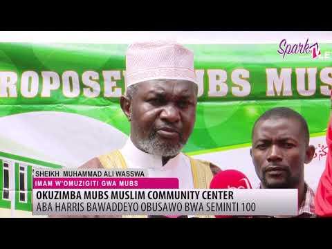 Kampuni ya Hariss international ewaddeyo obusawo bwa seminti okuzimba omuzikiti