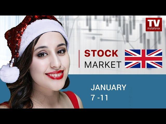 InstaForex tv calendar. Stock Market: weekly update (08.01.2019)