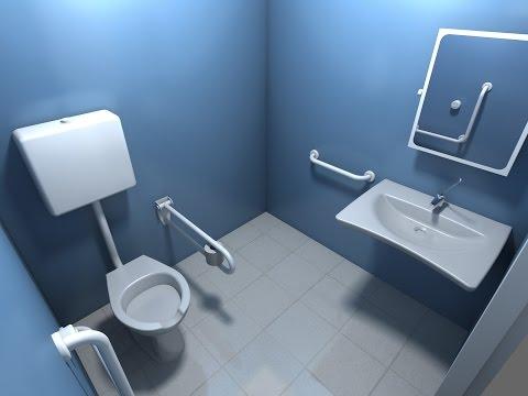 Come realizzare un bagno per disabili a norma?