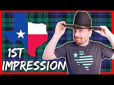 10 Crazy Things a SCOTTISH person noticed about TEXAS