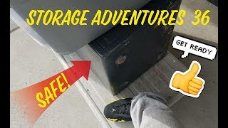 Storage Adventures 36: A #SAFE! IPODS, IPHONES, #LAPTOPS, #NINTENDO 3DS, #JORDANS AND MORE