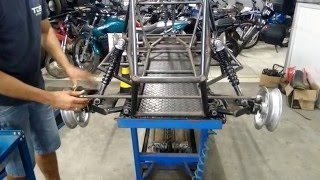Kart Cross Construção Artesanal FASE 18 - Barra De Direção