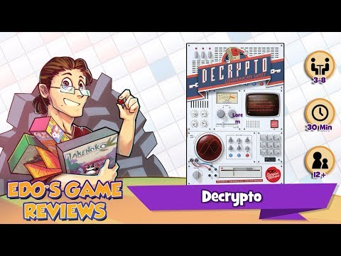 Edo's Decrypto Review