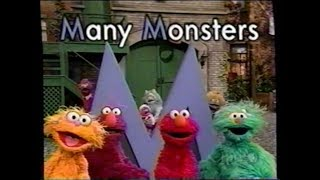 Sesame Street (#3910): Many Monsters