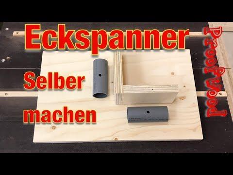 Eckspanner / Winkelspanner selber bauen‼ HT Rohre verlegen ⁉️  Jig