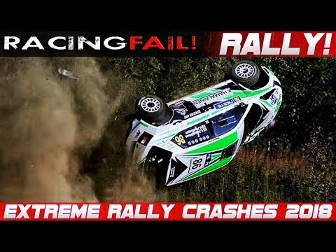 WRC RALLY CRASH EXTREME BEST OF 2018 THE ESSENTIAL COMPILATION!