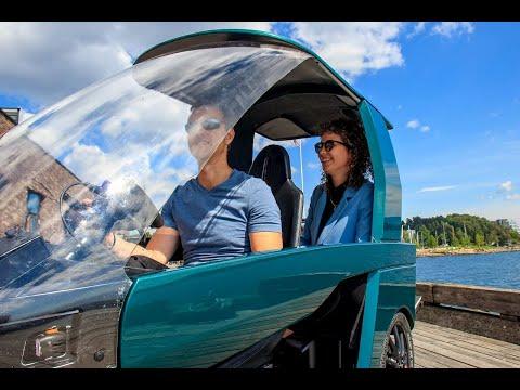Nhìn lướt qua ngỡ ô tô điện tí hon cho thành phố, hoá ra chiếc xe này chạy bằng... cơm!