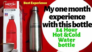 bb752d94caa 24 Hour Hot   Cold Water Bottle 👍💯 I Best Experience   Review After One