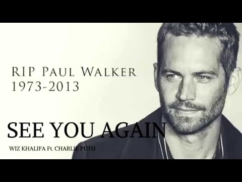 Wiz Khalifa - See You Again ft. Charlie Puth - Furious 7 Soundtrack With Lyrics