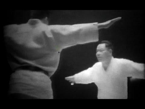 Mikonosuke Kawaishi and Minoru Mochizuki - Budo Demonstration (1951)