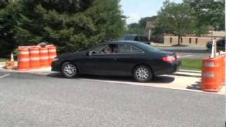 Taking the driver's licensing test in Lancaster County, PA