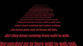 Chris Brown- Wall To Wall (lyrics)