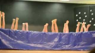 5th grade boys Synchronized Air Swimming Talent Show Skit W A Porter Elementary