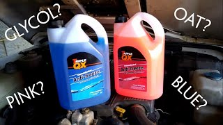 Which coolant for a 300Tdi?