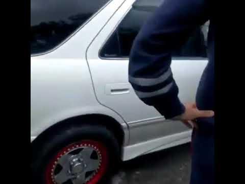 Задержание пьяной автоледи на Камчатке