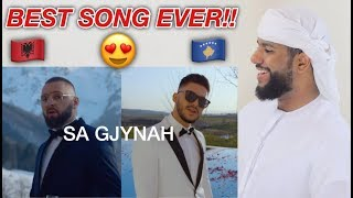 ARAB REACTION TO ALBANIAN MUSIC BY Majk Ft. Butrint Imeri   Sa Gjynah **WOW**