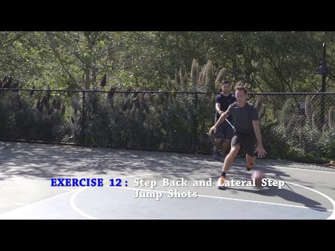 Step Back and Lateral Jump Shots