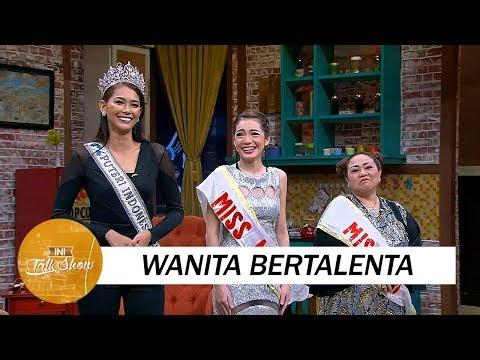 Tiga Wanita Bertalenta di Ajang Miss Ini Talk Show